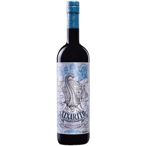 Botella de vino generoso manzanilla Xixarito, de bodegas Barón, en Sanlucar de Barrameda