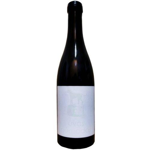 Botella de vino tinto de Castilla y León uvas nómadas Rufete, de bodegas Malaparte