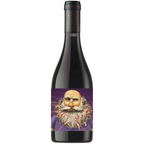 Imagen botella de vino tinto de Rioja, del proyecto locos de la bahía, de crusoe treasure.