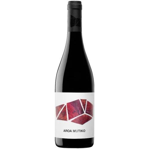 Botella de vino tinto de Navarra, Aroa Mutiko. del grupo Vintae