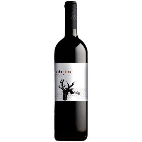 Botella de vino tinto de Ribera del Duero, Viña Buena Joven, elaborado por bodegas Castroizan
