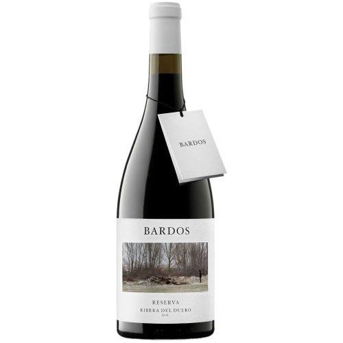 imagen botella de vino tinto de ribera del duero Bardos Reserva del grupo Vintae