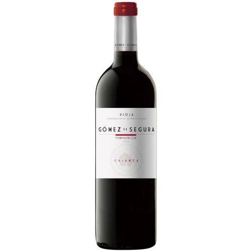 Botella de vino tinto de Rioja Gomez de Segura Crianza