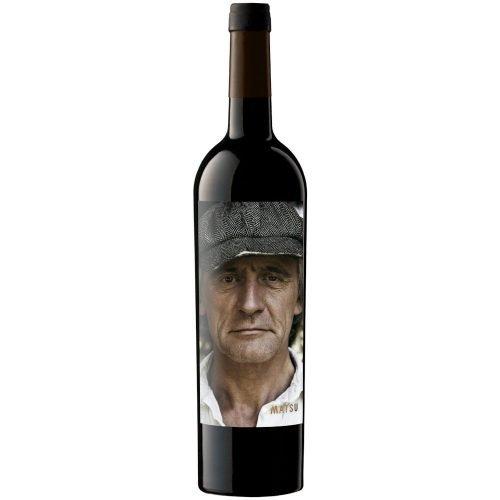 Botella de vino tinto de Toro, Matsu el recio, del grupo Vintae