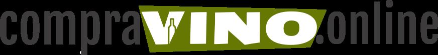Logotipo de web de venta de vino online compravino.online
